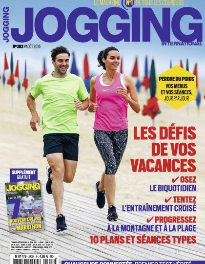 Jogging International N°382 - Aout 2016