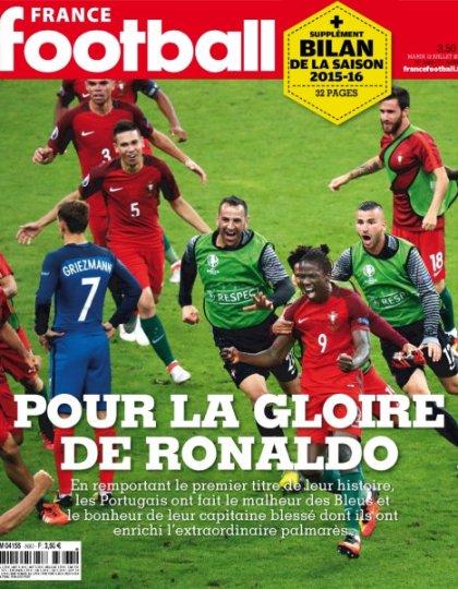 France Football n°3663 - 12 Juillet 2016