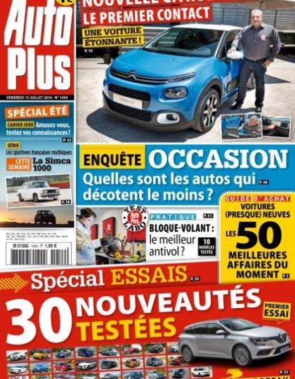 Auto Plus n°1454 - 15 au 21 Juillet 2016