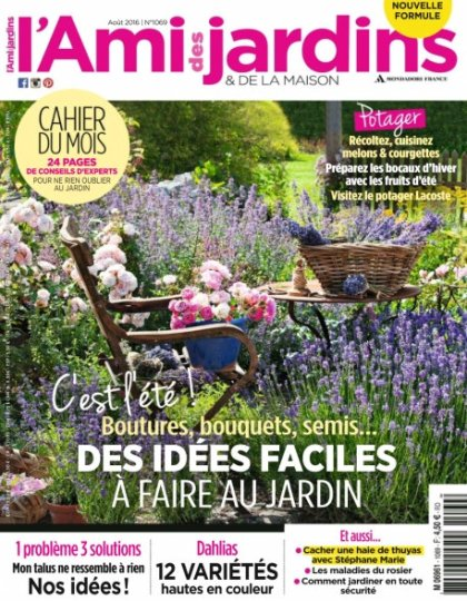 L'Ami des Jardins n°1069 - Août 2016