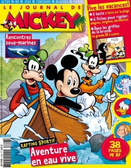 Le Journal de Mickey n°3348 - 17 Août 2016