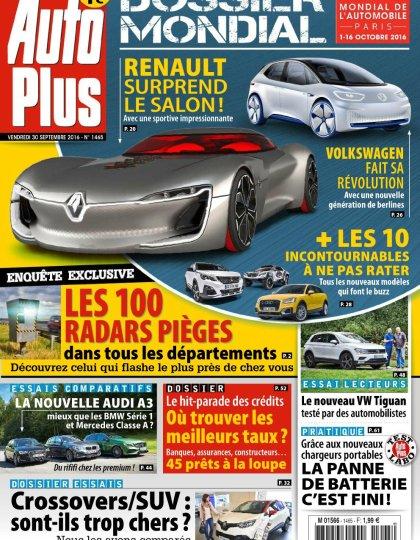 Auto Plus N°1465 - 30 Septembre au 06 Octobre 2016
