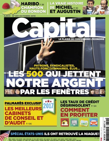 Capital N°301 - Octobre 2016