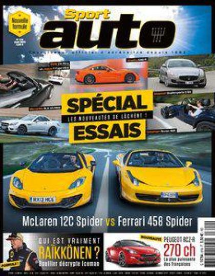 Sport Auto N°619  Aout 2013