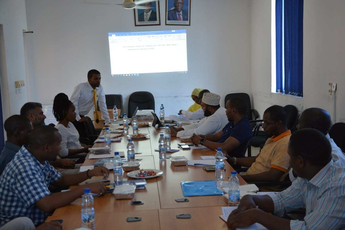 MEETING TO DISCUSS LIQUIFIED PETROLEUM GAS (LPG) OPERATIONAL GUIDELINES