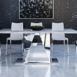 Bianco 71 Dining Table