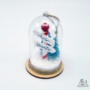 Campana navidad personalizada