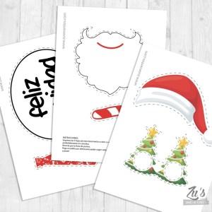 Photocall Navidad Imprimible