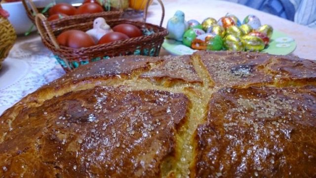 Pinca - Croatian Easter bread