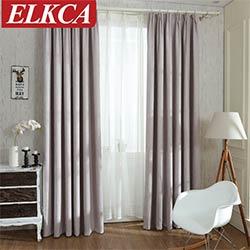 solide couleurs blackout rideaux pour la chambre a coucher faux linge moderne rideaux pour salon fenetre rideaux stores custom made