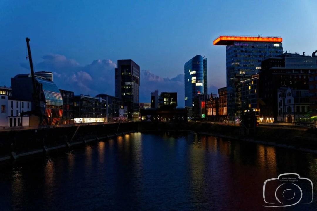 Fotografische Highlights bei der Blauen Stunde in Düsseldorf!