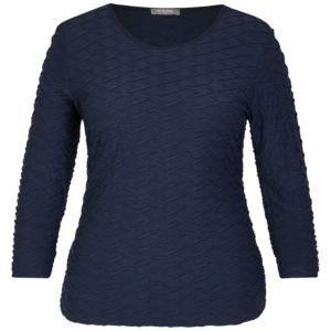 shirt_damen_rabe_uni_marine_struktur_3-4arm_43-321300_390_01