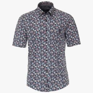 Herren Freizeithemd mit floralem Print von CasaModa Front