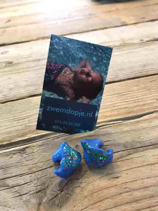 Gezellige zwemdoppen