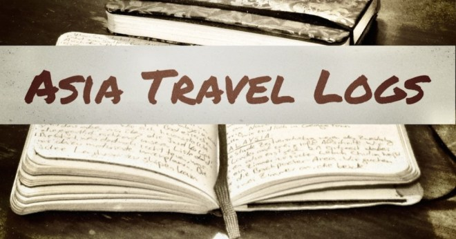 asia travel logs