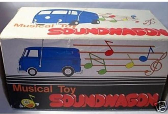 Soundwagon Musical Toy