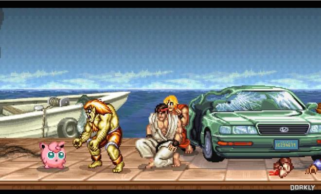 Street Fighter 2 Suoer Smash Brothers