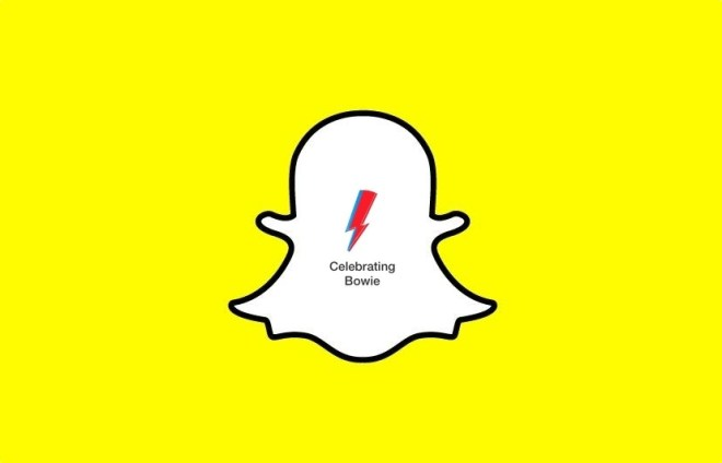 Snapchat Bowie