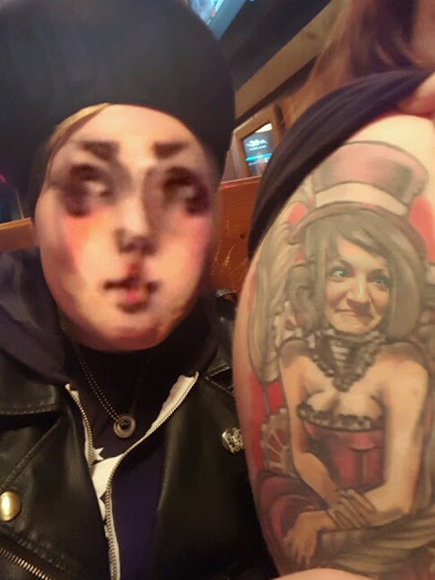Face Swap with a Tattoo
