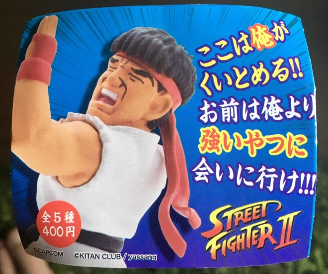Street Fighter 2 Figuren
