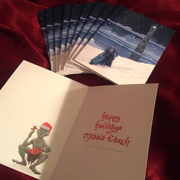 lord-of-the-rings-christmas-card-pj-mcquade-3