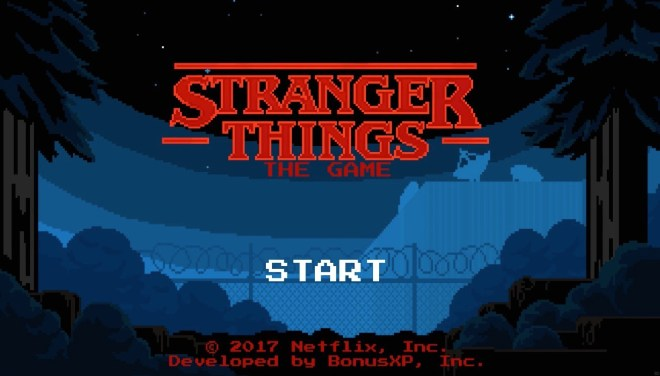 stranger things iOS