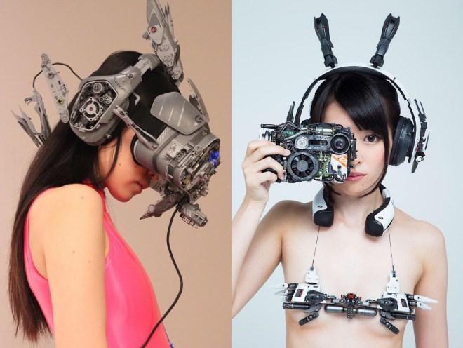 DIY Cyberpunk Accessoires aus altem Elektroschrott