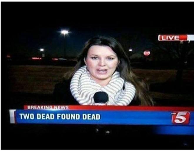 Reporterin erreicht Zombie-freie Zone!