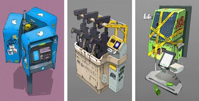 Futuristic Imaginary Machines