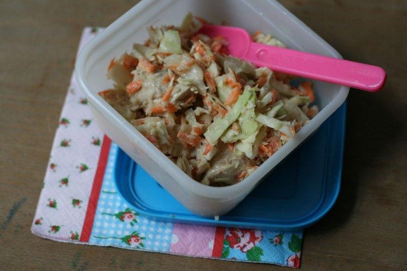 chicken coleslaw - krautsalat