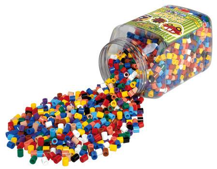 Hama Bugelperlen Maxi Vollton Mix 1400 Perlen 6 Farben In