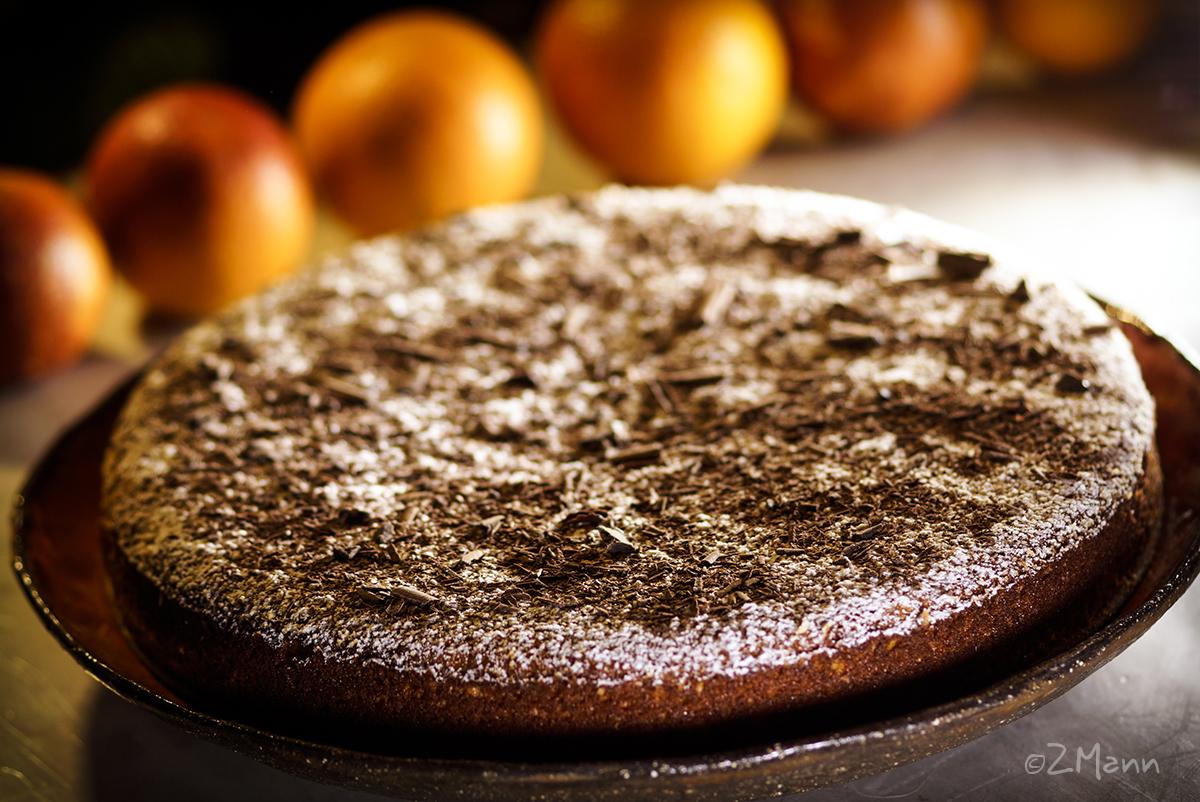 ciasto z pomarańczy