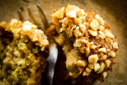 widokiem na stół   cytrynowe muffiny z cukinii