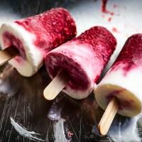 lekkie lody malinowo-jogurtowe