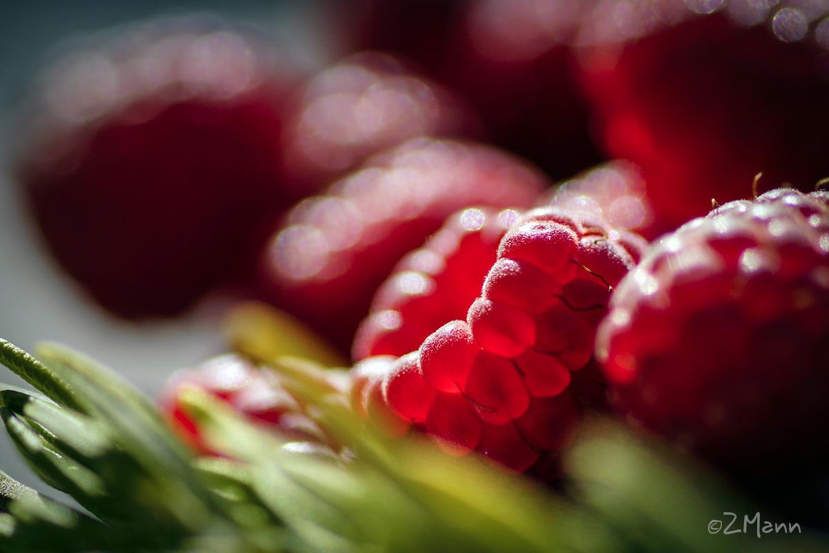 z widokiem na stół | dżem truskawkowy