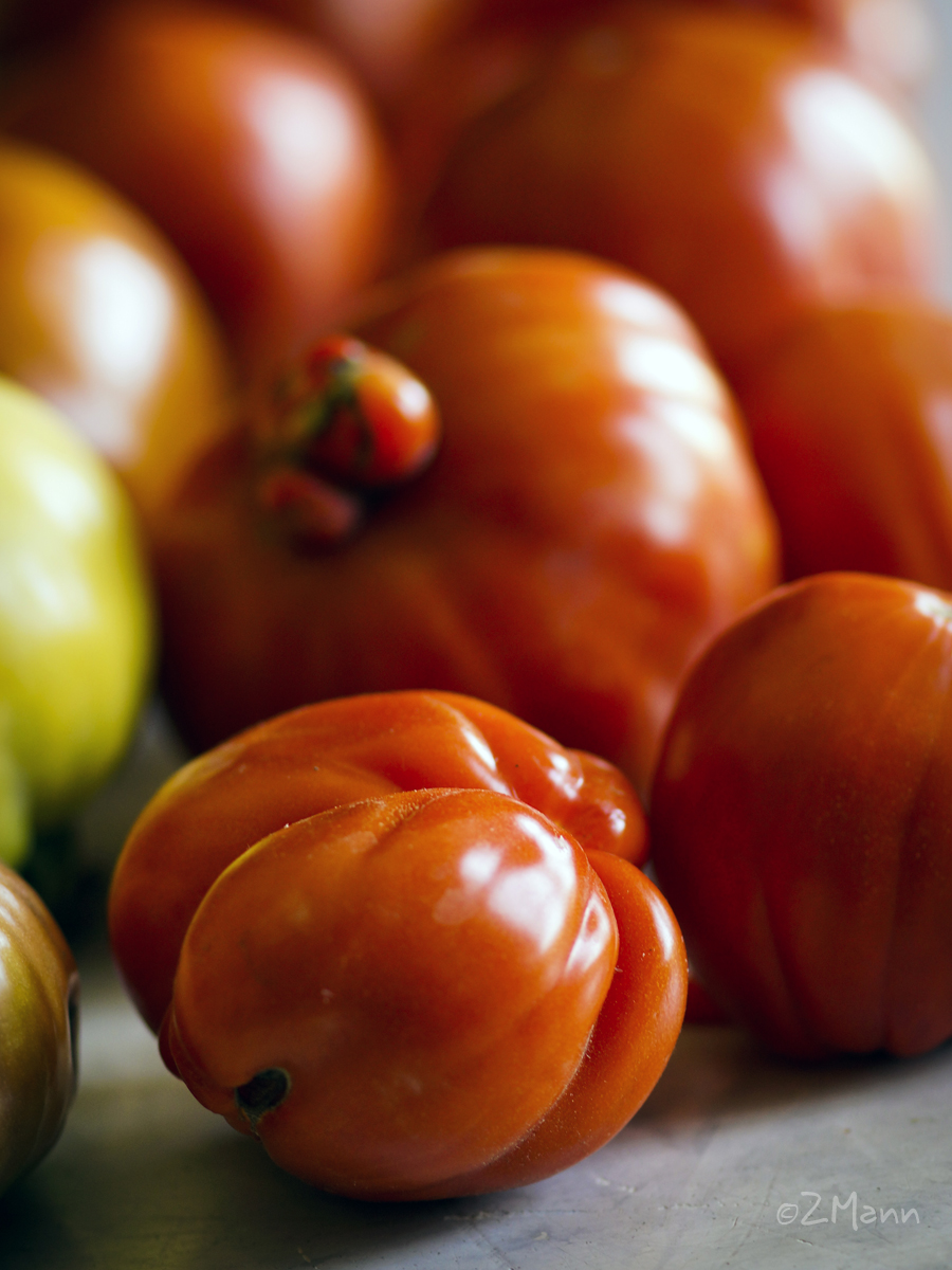 z widokiem na stol   pomidory dawnych odmian