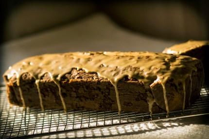 z widokiem na stół | ciasto piernikowe