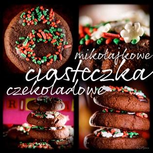 z widokiem na stół | mikołajkowe ciasteczka czekoladowe
