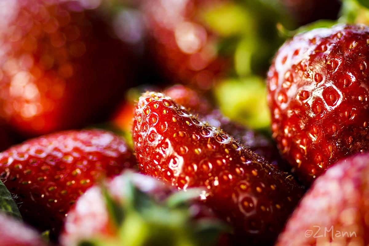 z widokiem na stół | smak lata : truskawki