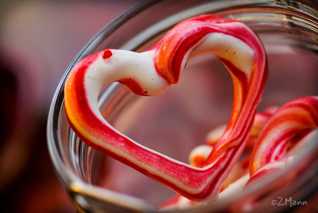 z widokiem na stół | bezowe serca