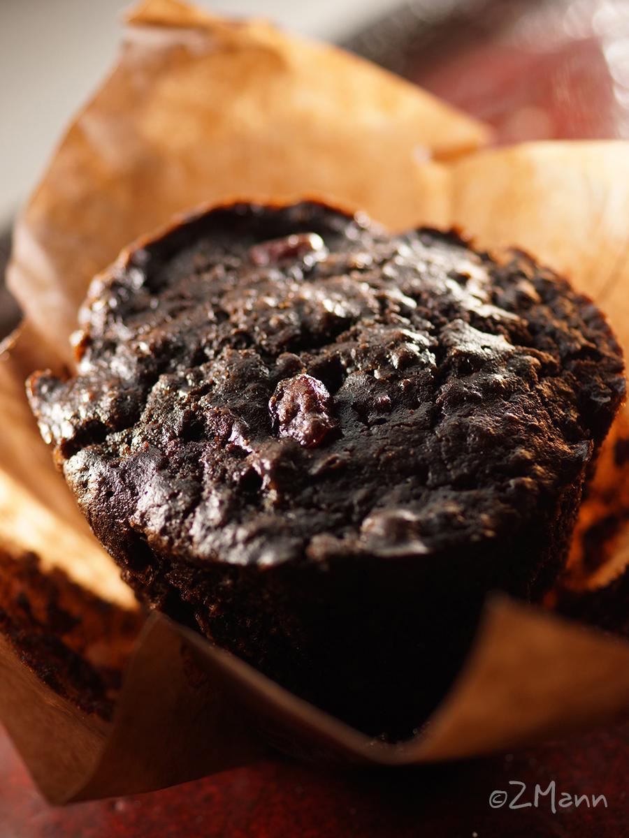 z widokiem na stół | muffiny czekoladowe