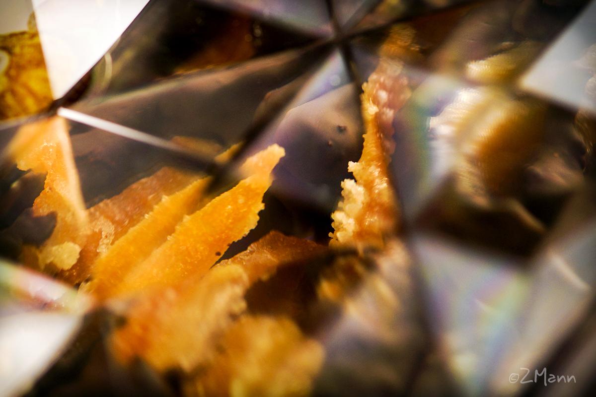 z widokiem na stół | skórka pomarańczowa w czekoladzie