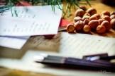 z widokiem na stół | notatnik grudniowy