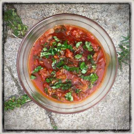 z widokiem na stół | zapiski podróżne Elba | sos pomidorowy - najlepszy