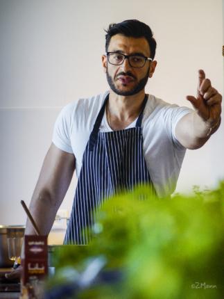 z widokiem na stół   kuchnia Bliskiego Wschodu   Aws Naser