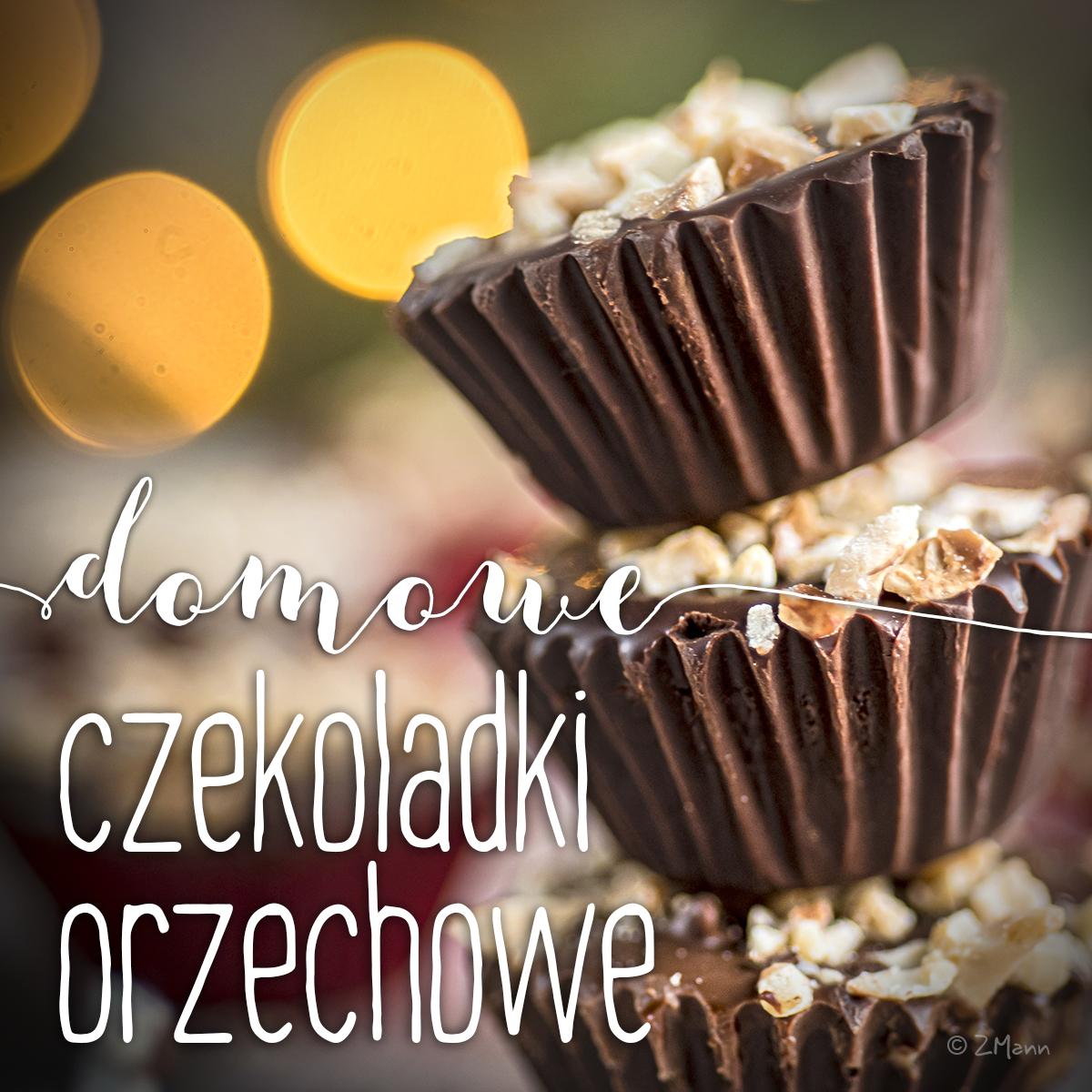 z widokiem na stół       czekoladki orzechowe