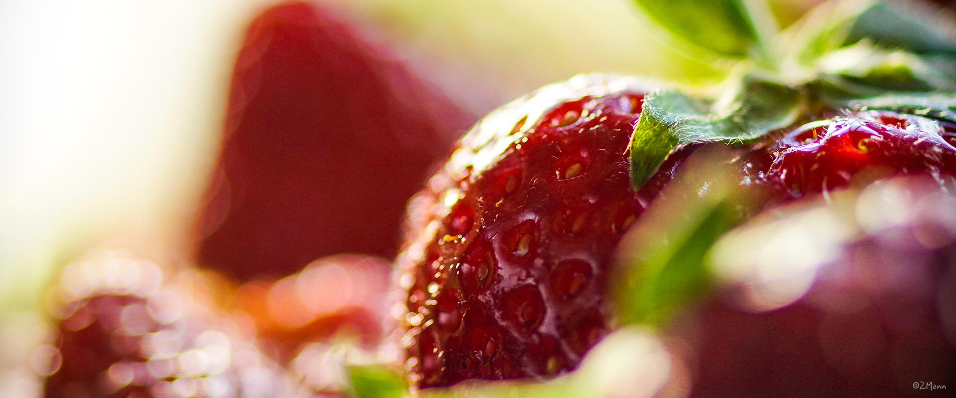 z widokiem na stół | truskawkowe love