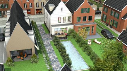 Nieuwe kavels te koop in Cronenburgh te Loenen aan de Vecht voor particuliere opdrachtgevers