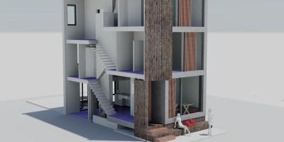 Coendersbuurt kavel architect ontwerp voorgevel