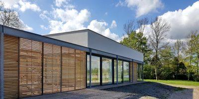 recreatiewoning vecht moderne paviljoen architekt 4
